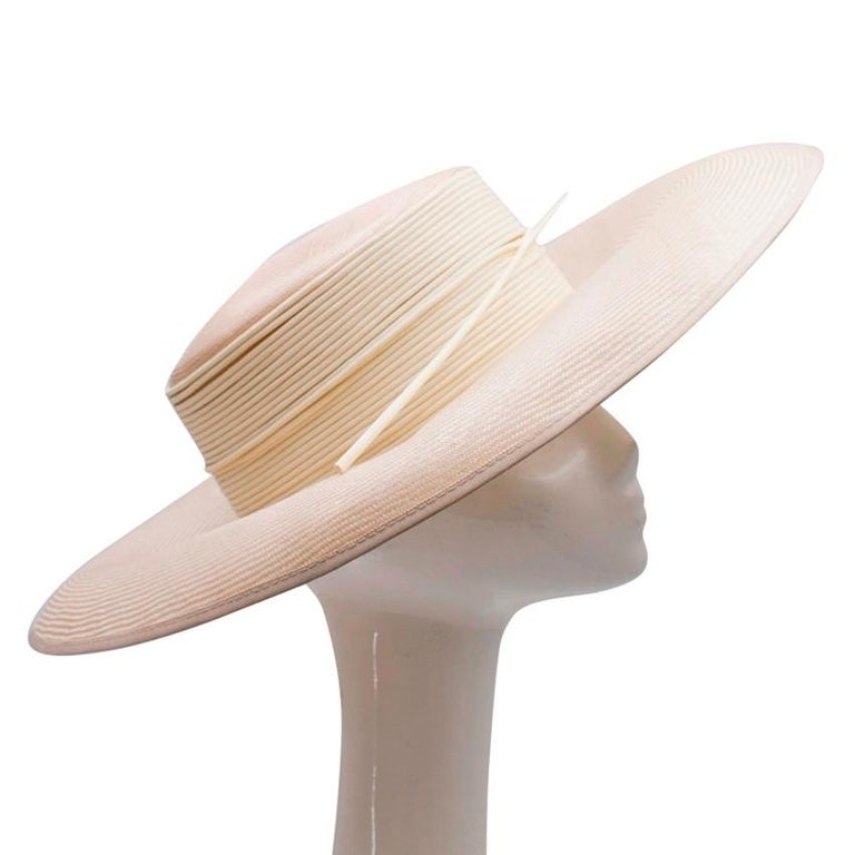 Philip Somerville Nude Straw Hat For Sale 3