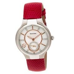 Philip Stein Mother of Pearl Stainless Steel Teslar Women's Wristwatch 35 mm