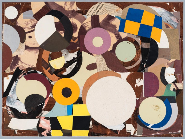 Philip Sultz is a mixed media artist who has made paintings, collages, and assemblages using a variety of materials. There is a subtle offhand beauty to his organic arrangements of cut paper and matte pigment. Sultz's work is neither narrative nor