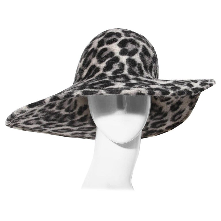 Philip Treacy Wide Brim Fedora Hat For Sale