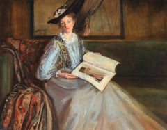 A Wistful Glance - ATTRIBUTED TO PHILIP WILSON STEER