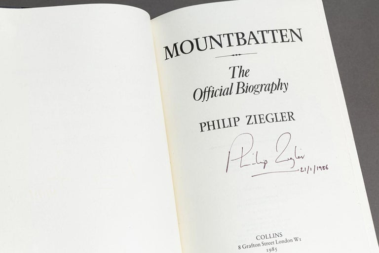 Leather Philip Ziegler, Mountbatten, The Official Biography For Sale