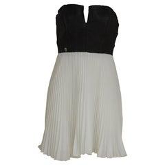 Philipp Plein black and white dress