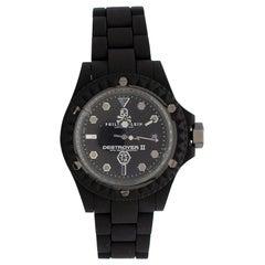 Philipp Plein Destroyer II Focus Black Matte Watch