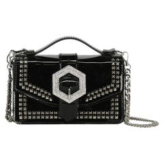 Philipp Plein Woman Shoulder bag Black Leather