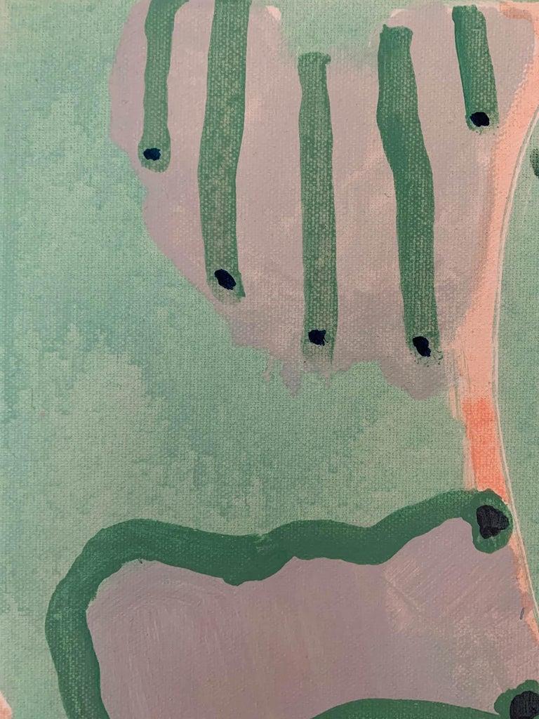 Marsh, Philippa Jeffrey, Original Contemporary Art, Abstract Art, Pastel Scheme For Sale 3
