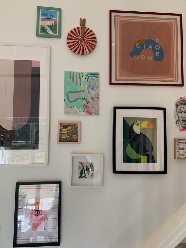Marsh, Philippa Jeffrey, Original Contemporary Art, Abstract Art, Pastel Scheme For Sale 4