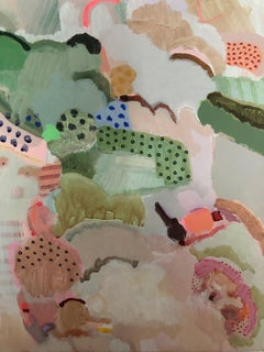 Philippa Jeffrey, Love in a Mist, Abstract Art, Contemporary Art, Art Online