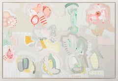 Pollenated Palette, Philippa Jeffrey, Original Art, Abstract Art, Affordable art