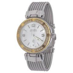 Philippe Charriol 18 Karat Yellow and White Gold and Diamond Watch