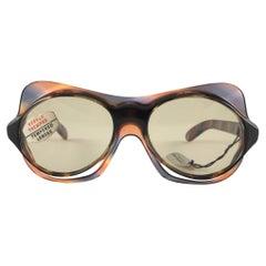 Philippe Chevallier Vintage Avant Garde Translucent Sunglasses, 1960s