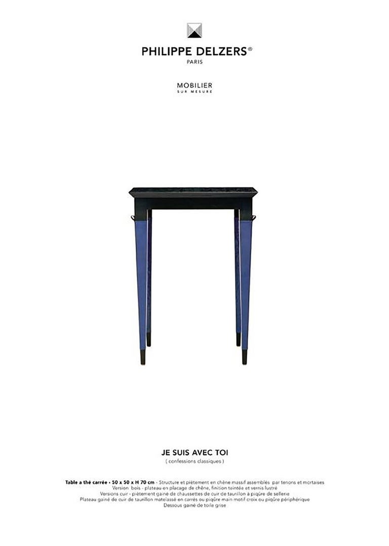 Contemporary Philippe Delzers for Delzers Studio, Tea Table Je Suis Avec Toi, 2005 For Sale