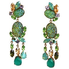 Philippe Ferrandis Limited Edition Clip Earrings