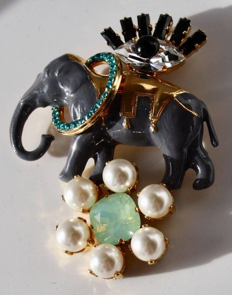 Philippe Ferrandis Magic Circus Elephant Pin In New Condition For Sale In Virginia Beach, VA