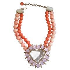 Philippe Ferrandis Mini Love Necklace