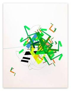 A Fiiane was Ilaand 8 (Abstract Painting)
