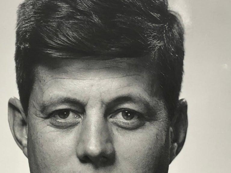American Philippe Halsman John F Kennedy Silver Gelatin For Sale