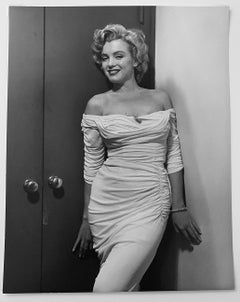 Marilyn Monroe, Life cover variant, Black and White Celebrity Portrait of Actor