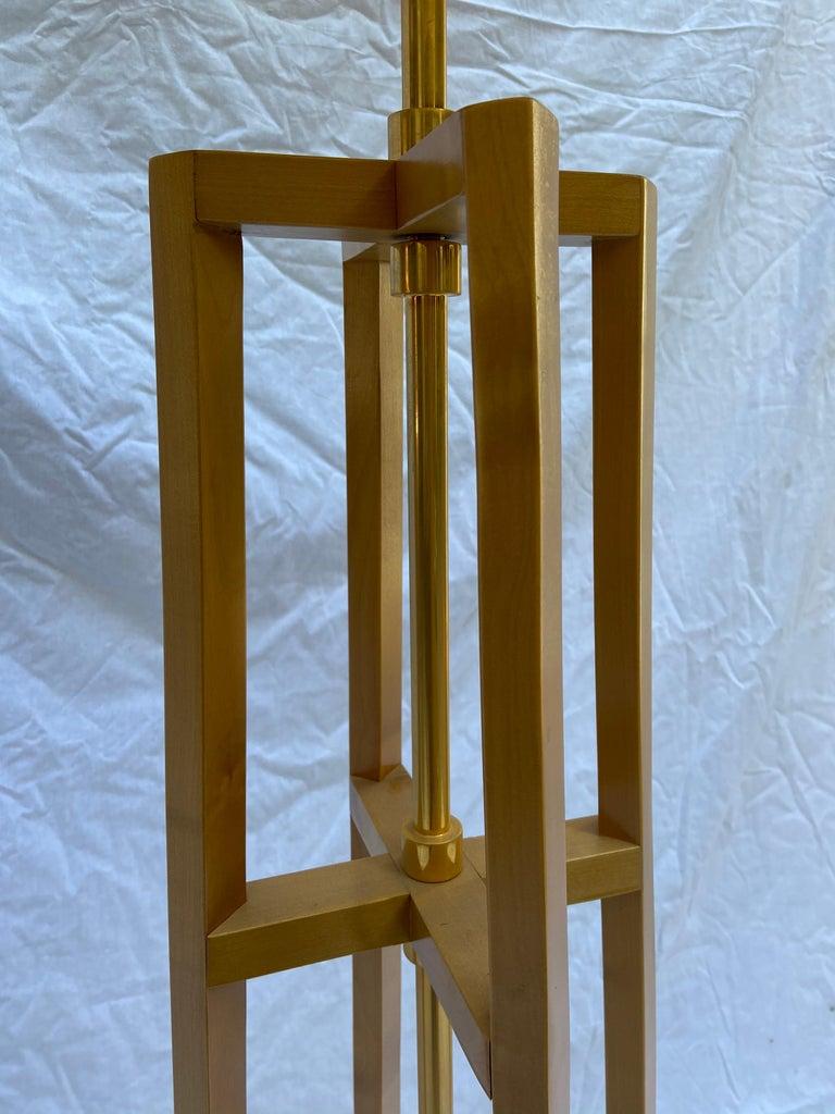 European Philippe Hurel, Quadripod Floor Lamp, Circa 2000 For Sale