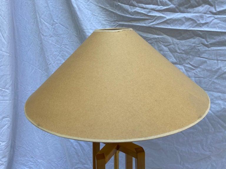 Philippe Hurel, Quadripod Floor Lamp, Circa 2000 In Good Condition For Sale In Saint ouen, FR