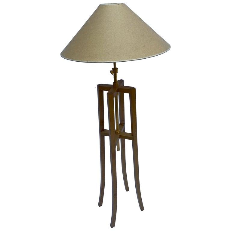 Philippe Hurel, Quadripod Floor Lamp, Circa 2000 For Sale