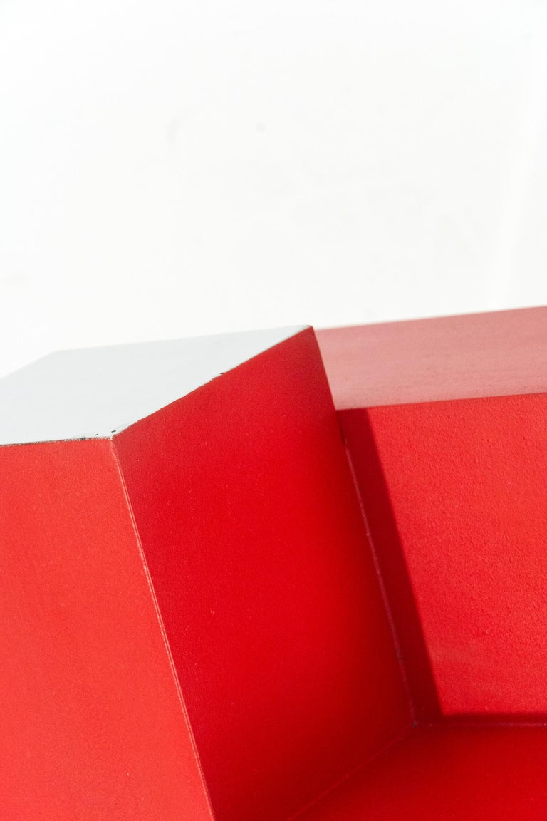 12 Inch Cube Red 1/10 For Sale 1