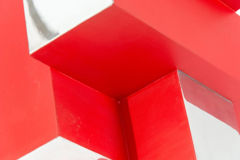 12 Inch Cube Red 1/10 For Sale 2