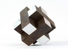 12 Inch Cube Rust 1/10