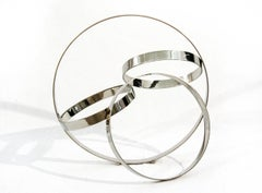 Four Ring Polished Stainless Steel Temps Zero