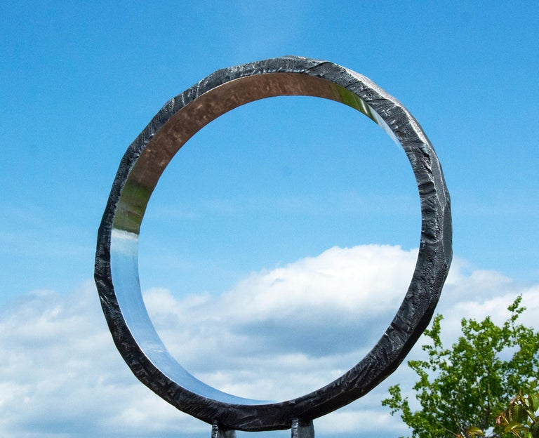 Wormhole - Sculpture by Philippe Pallafray