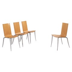 Philippe Starck for Driade Olly Tango Chairs, Set of 4