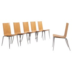 Philippe Starck for Driade Olly Tango Chairs, Set of 6