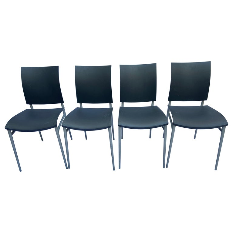 Philippe Starck, Set of 4 Chairs, circa 2000 For Sale