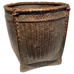 Philippine Woven Rattan Basket