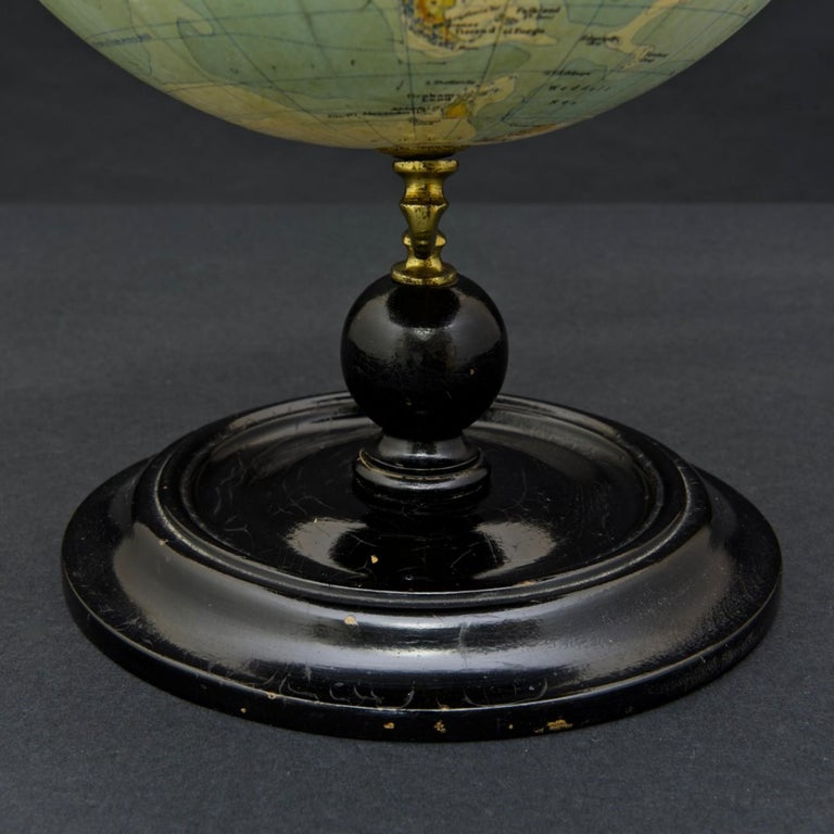 Early 20th Century Philips Terrestrial Globe, circa 1925 For Sale
