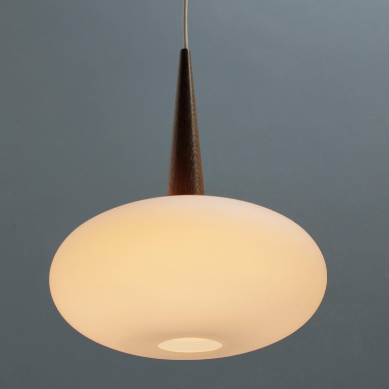 Mid-Century Modern Philips Pendant Lamp by Louis Kalff, Dutch 1950s For Sale