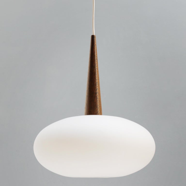 Philips Pendant Lamp by Louis Kalff, Dutch 1950s In Good Condition For Sale In JM Haarlem, NL
