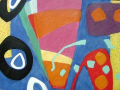 """""""Andalucia.""""   Contemporary Abstract Expressionist Oil Painting"""