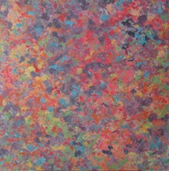 Soft Fall (Autumn) Contemporary Abstract Oil Painting