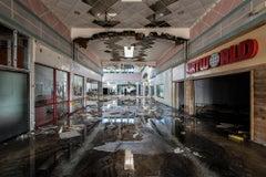 """""""Art World"""" Wayne Hills Mall, New Jersey (Modern Ruin series) color photograph"""