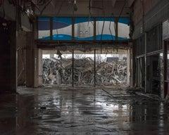 """Main Entrance"" Wayne Hills Mall, New Jersey (Modern Ruins) color photograph"