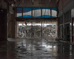 """Main Entrance"" Wayne Hills Mall, NJ (Modern Ruins) 24""x30"" color photograph"