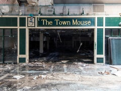 """The Town Mouse"" Wayne Hills Mall, New Jersey (Modern Ruins) color photograph"
