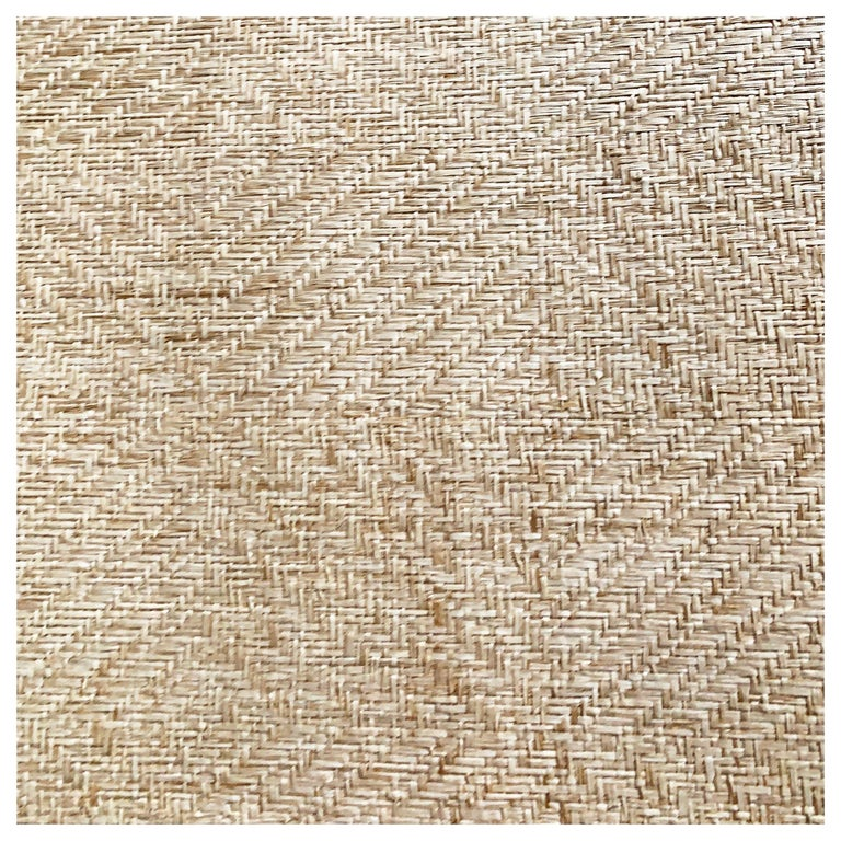 Phillip Jeffries Diamond Weave Seamless Natural For Sale
