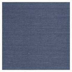 Phillip Jeffries Manila Hemp Navy Vinyl Wallpaper, Blue, PJ 7740