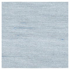 Phillip Jeffries Silk Star Dust Celestial Blue Textile Wallpaper, Wall Covering