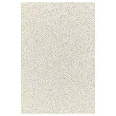 Phillip Jeffries Vanilla Rock Candy Hand-Beaded Artisanal Wallpaper, Rock Star