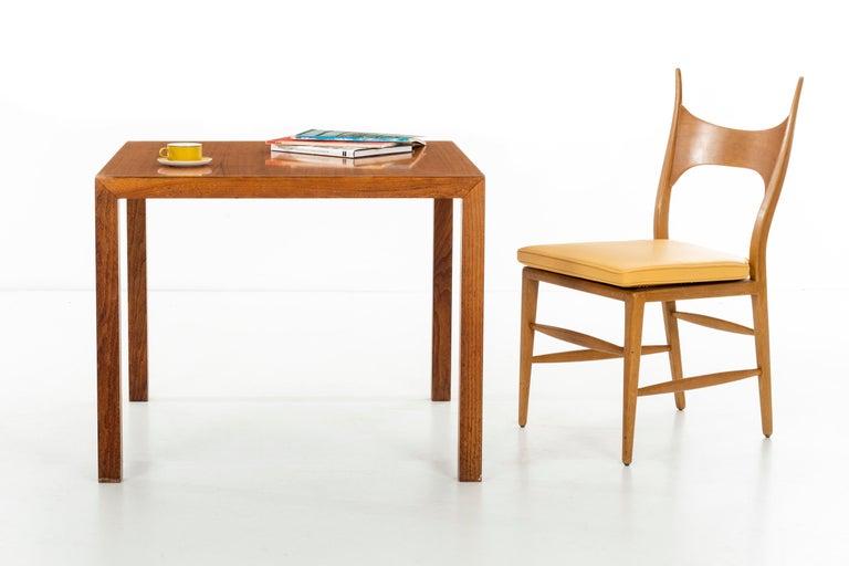 Walnut Phillip Johnson Parsons Table For Sale