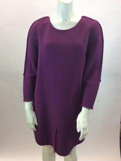 Phillip Lim Purple Wool Dress
