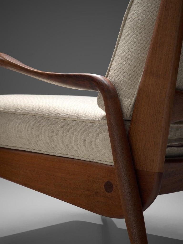 Mid-20th Century Phillip Lloyd Powell 'New Hope' Lounge Chair